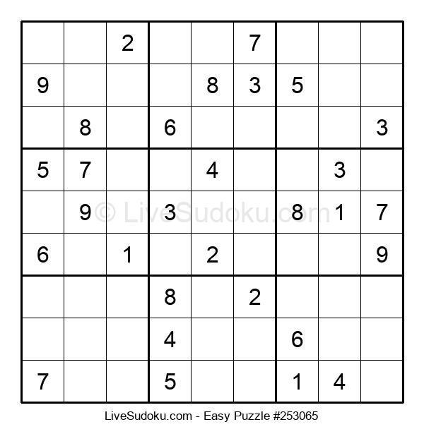 Beginners Puzzle #253065