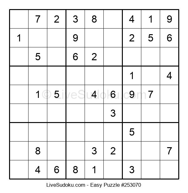 Beginners Puzzle #253070