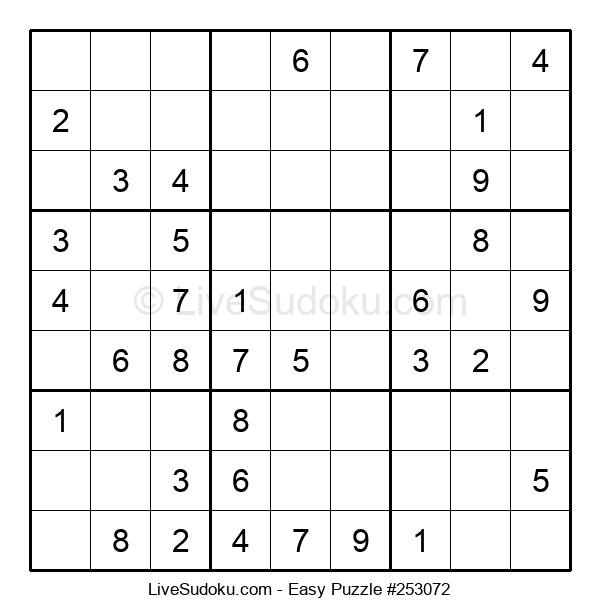 Beginners Puzzle #253072