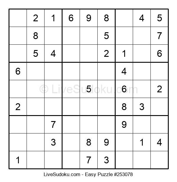 Beginners Puzzle #253078