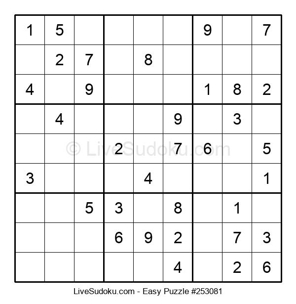 Beginners Puzzle #253081