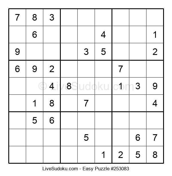 Beginners Puzzle #253083