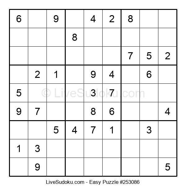 Beginners Puzzle #253086