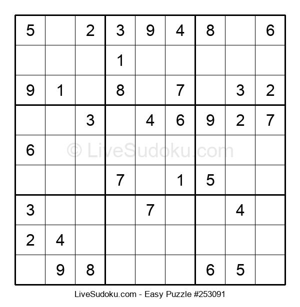 Beginners Puzzle #253091