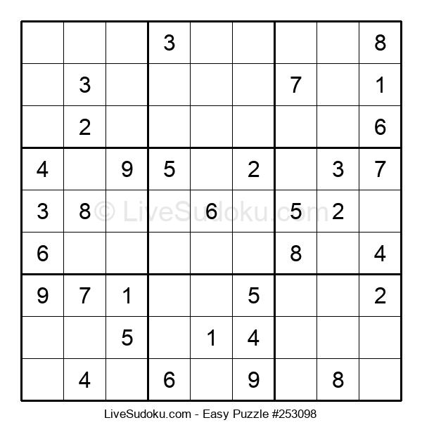 Beginners Puzzle #253098