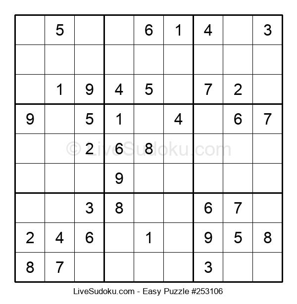 Beginners Puzzle #253106