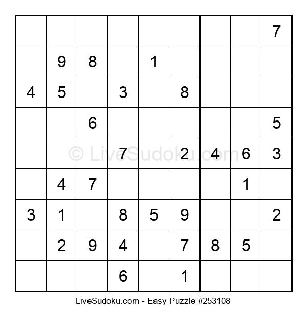 Beginners Puzzle #253108