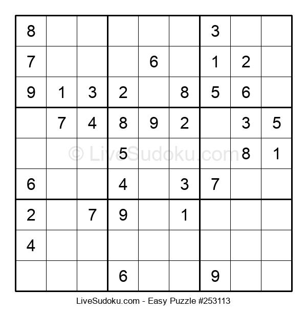 Beginners Puzzle #253113