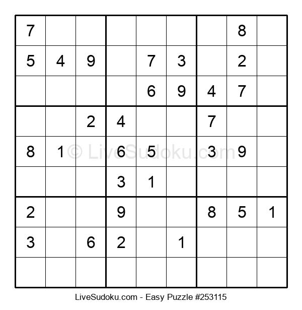 Beginners Puzzle #253115