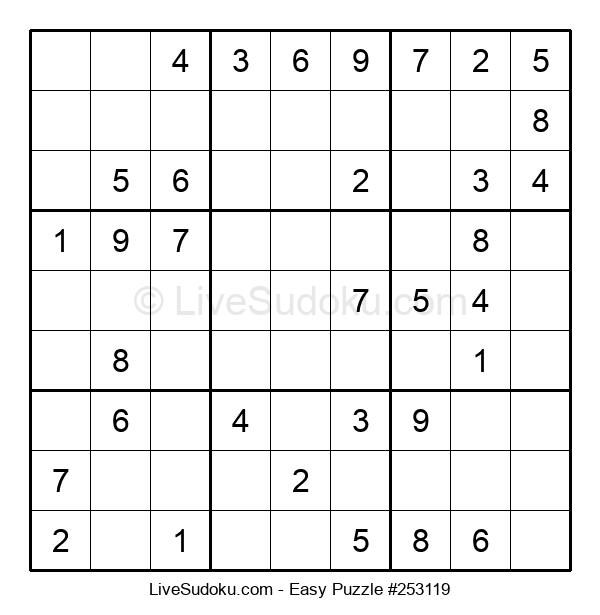 Beginners Puzzle #253119