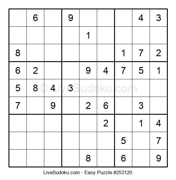 Beginners Puzzle #253120