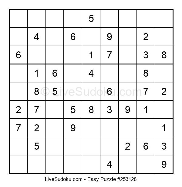 Beginners Puzzle #253128