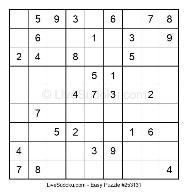 Beginners Puzzle #253131