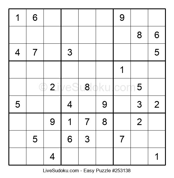 Beginners Puzzle #253138