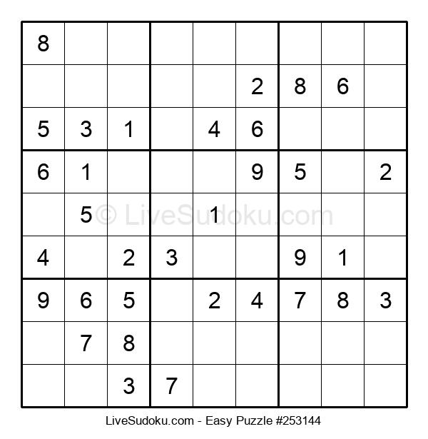 Beginners Puzzle #253144