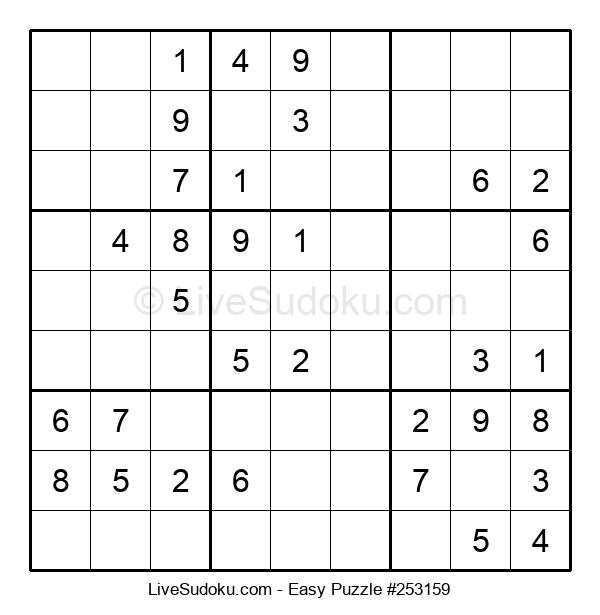Beginners Puzzle #253159