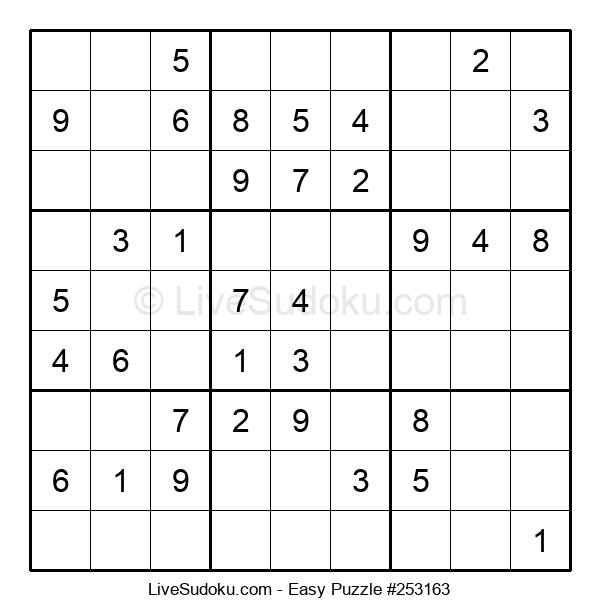 Beginners Puzzle #253163