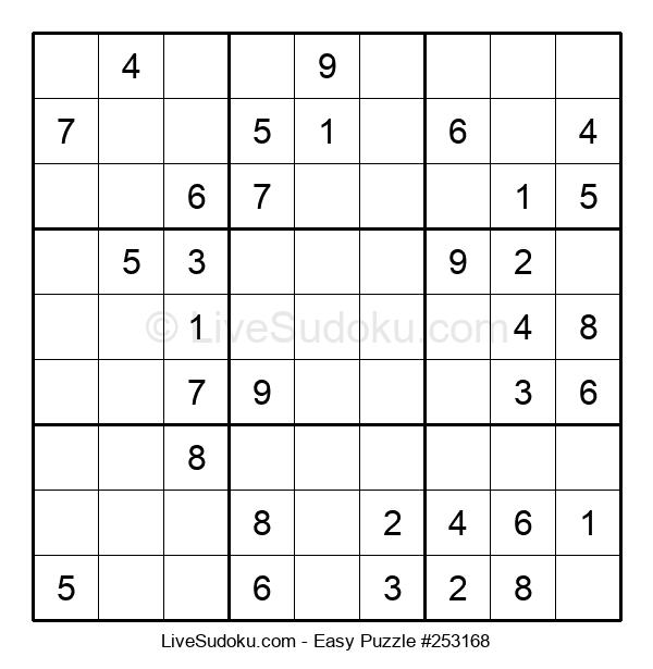 Beginners Puzzle #253168