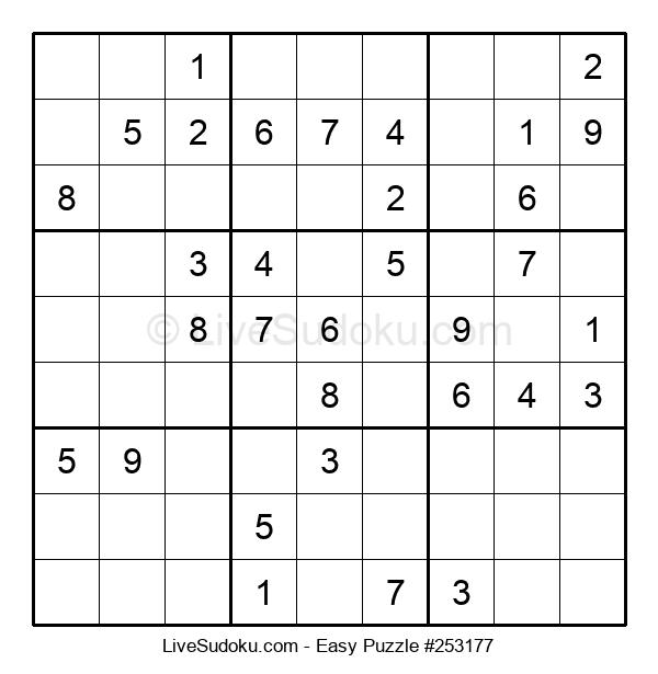 Beginners Puzzle #253177