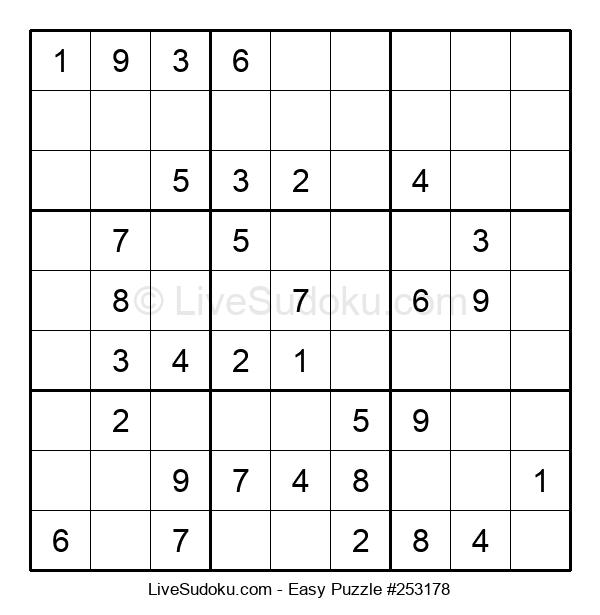 Beginners Puzzle #253178