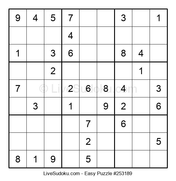 Beginners Puzzle #253189