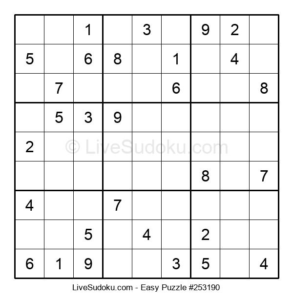 Beginners Puzzle #253190
