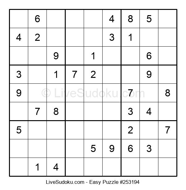 Beginners Puzzle #253194