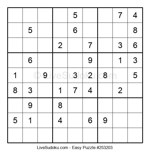 Beginners Puzzle #253203
