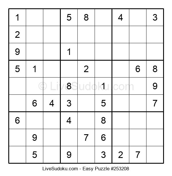 Beginners Puzzle #253208