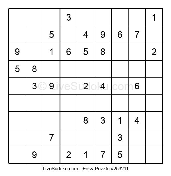 Beginners Puzzle #253211
