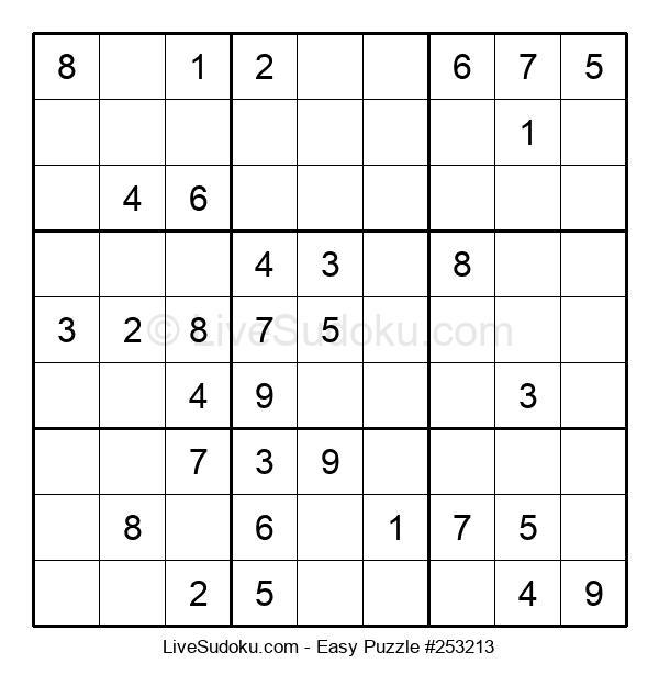Beginners Puzzle #253213