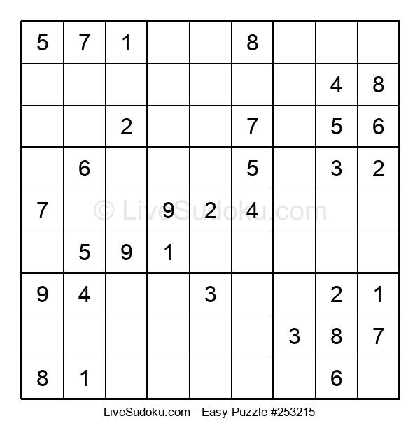 Beginners Puzzle #253215