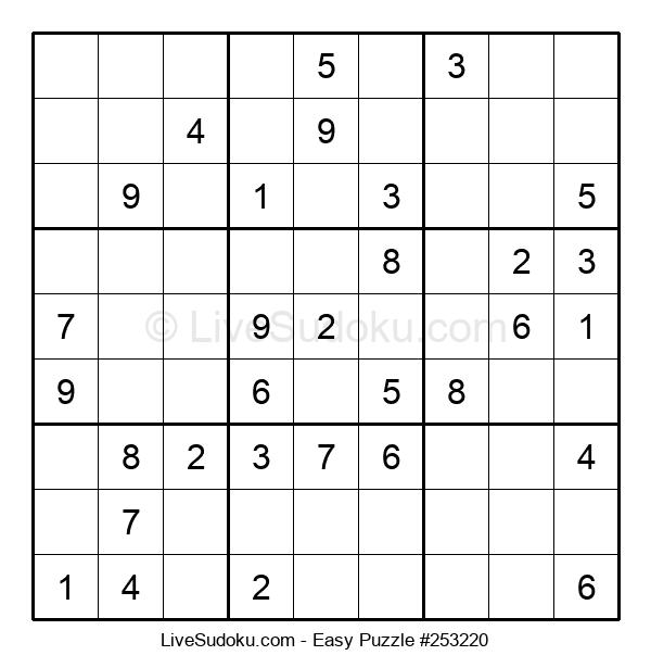 Beginners Puzzle #253220