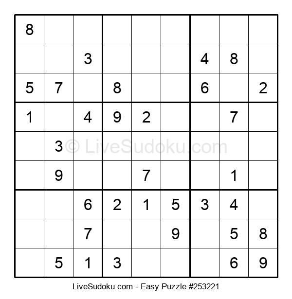 Beginners Puzzle #253221