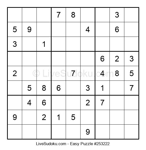 Beginners Puzzle #253222
