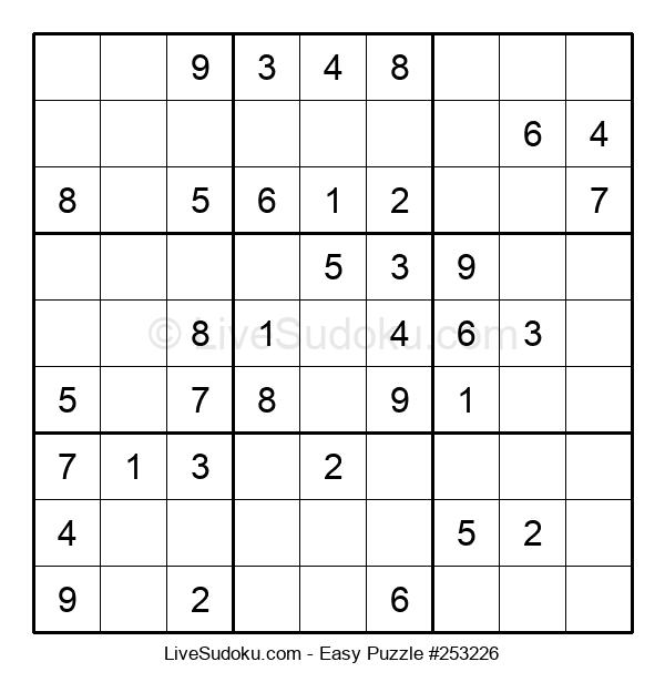 Beginners Puzzle #253226