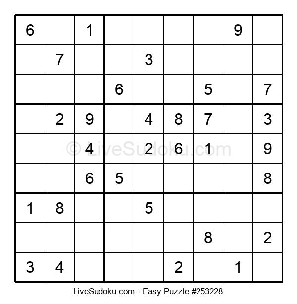 Beginners Puzzle #253228
