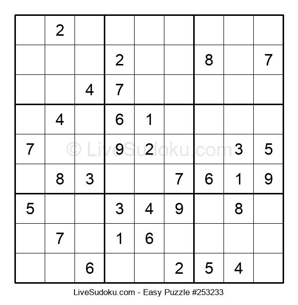 Beginners Puzzle #253233