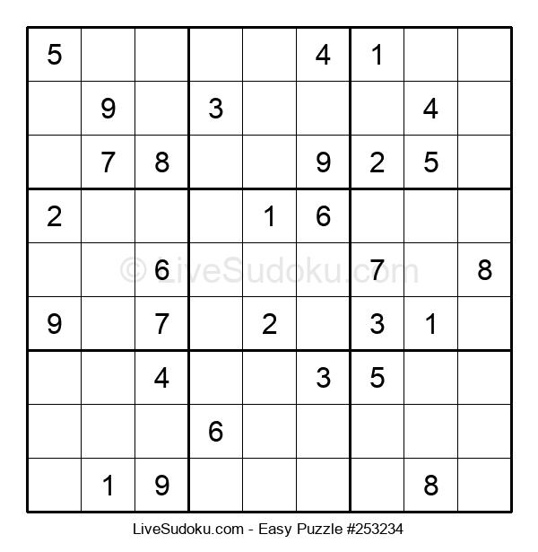Beginners Puzzle #253234