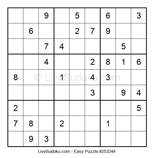 Beginners Puzzle #253244