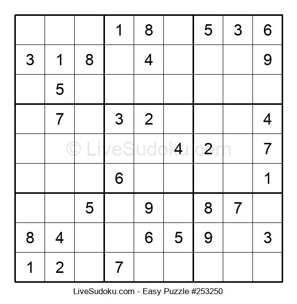 Beginners Puzzle #253250