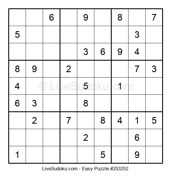 Beginners Puzzle #253252