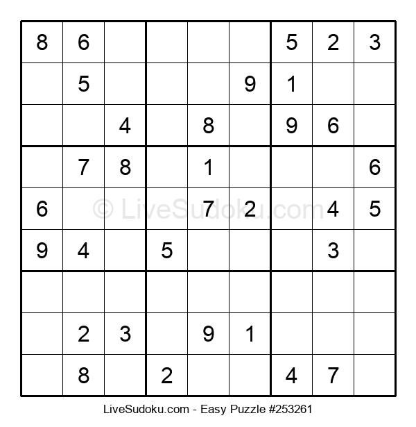 Beginners Puzzle #253261
