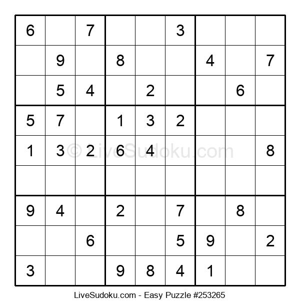 Beginners Puzzle #253265