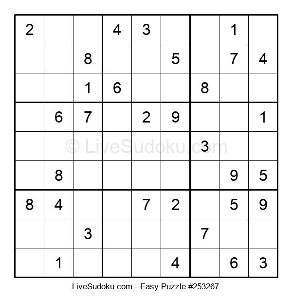 Beginners Puzzle #253267