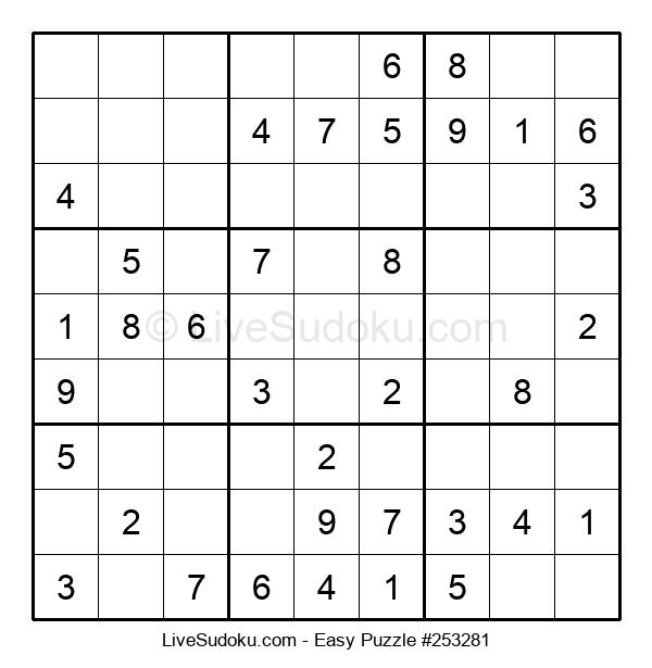 Beginners Puzzle #253281