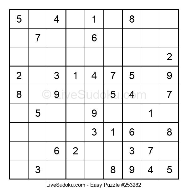 Beginners Puzzle #253282