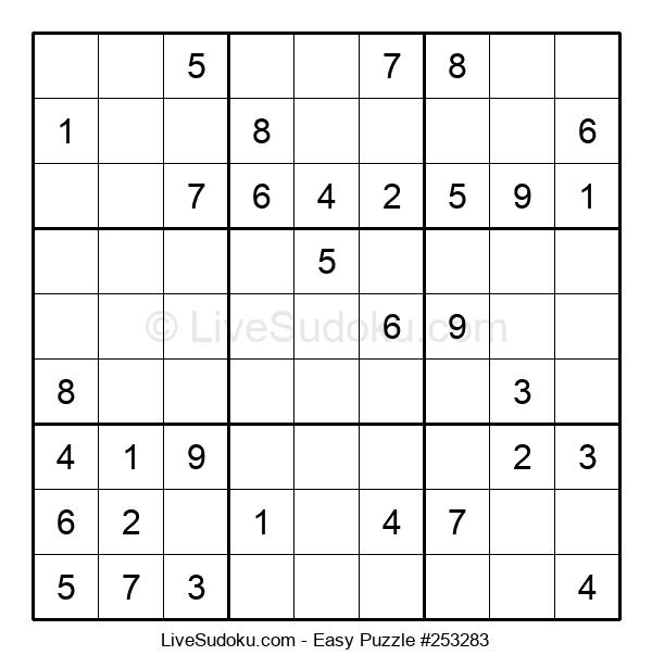 Beginners Puzzle #253283