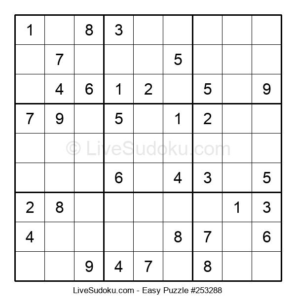 Beginners Puzzle #253288