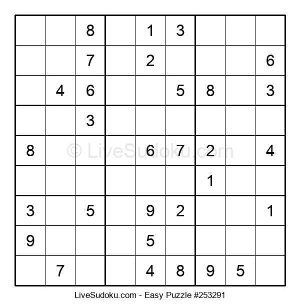 Beginners Puzzle #253291